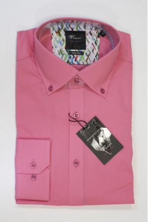 Розовая рубашка Venti