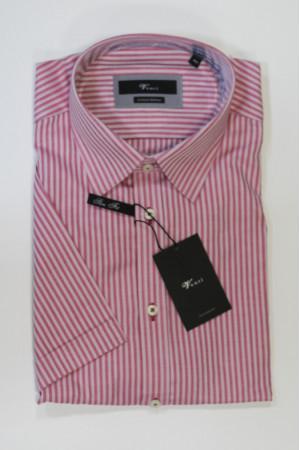 Розовая рубашка в полоску Venti