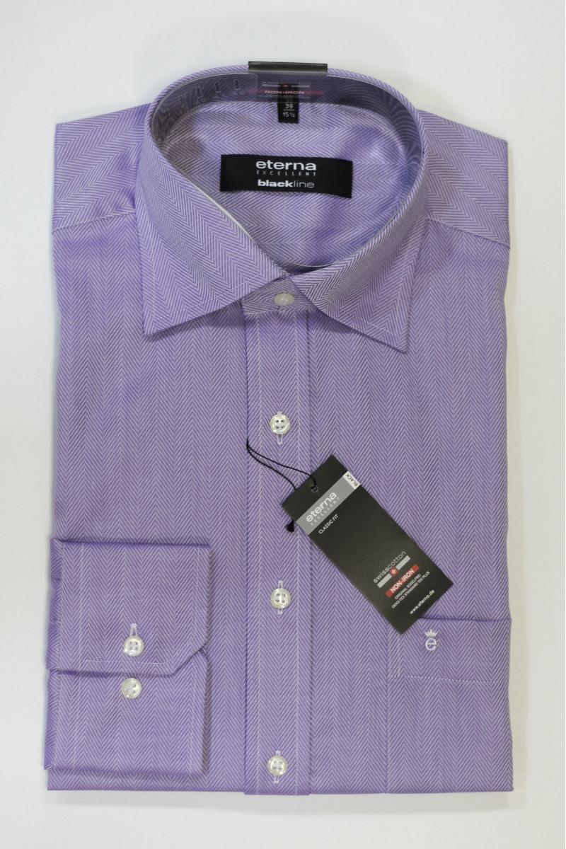Фиолетовая рубашка Eterna