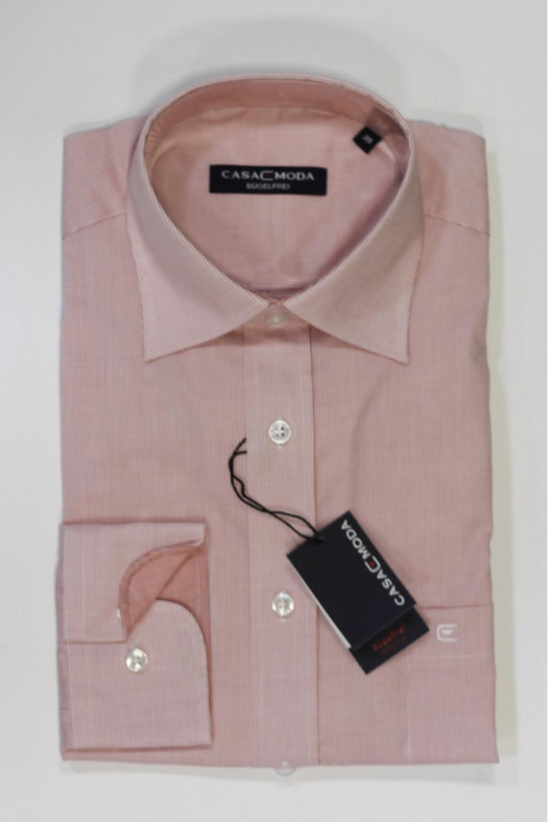 Розовая рубашка Casa Moda