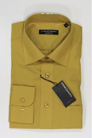 Бледно-желтая рубашка Casa Moda