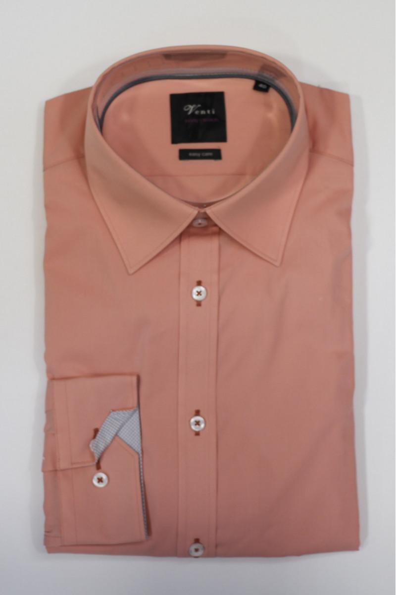 Оранжевая рубашка Venti с длинными рукавами
