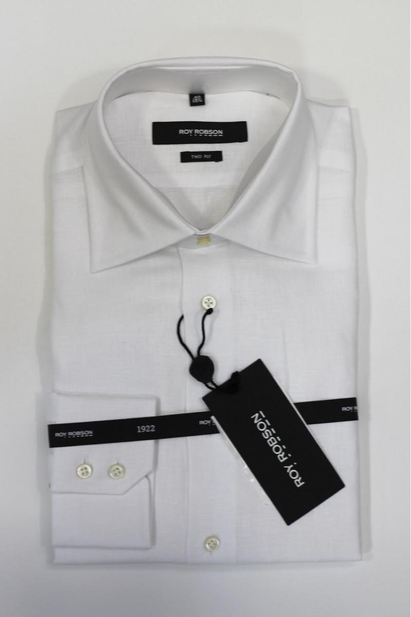 Белая рубашка Roy Robson