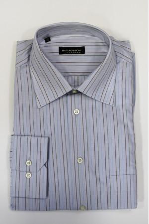 Голубая рубашка в полоску Roy Robson и с длинными рукавами