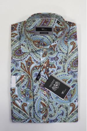 Светло-голубая рубашка Venti с длинными рукавами