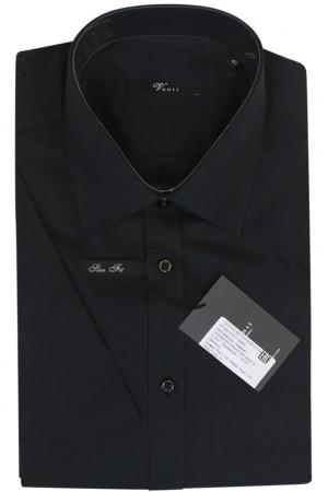 Черная рубашка в полоску Venti