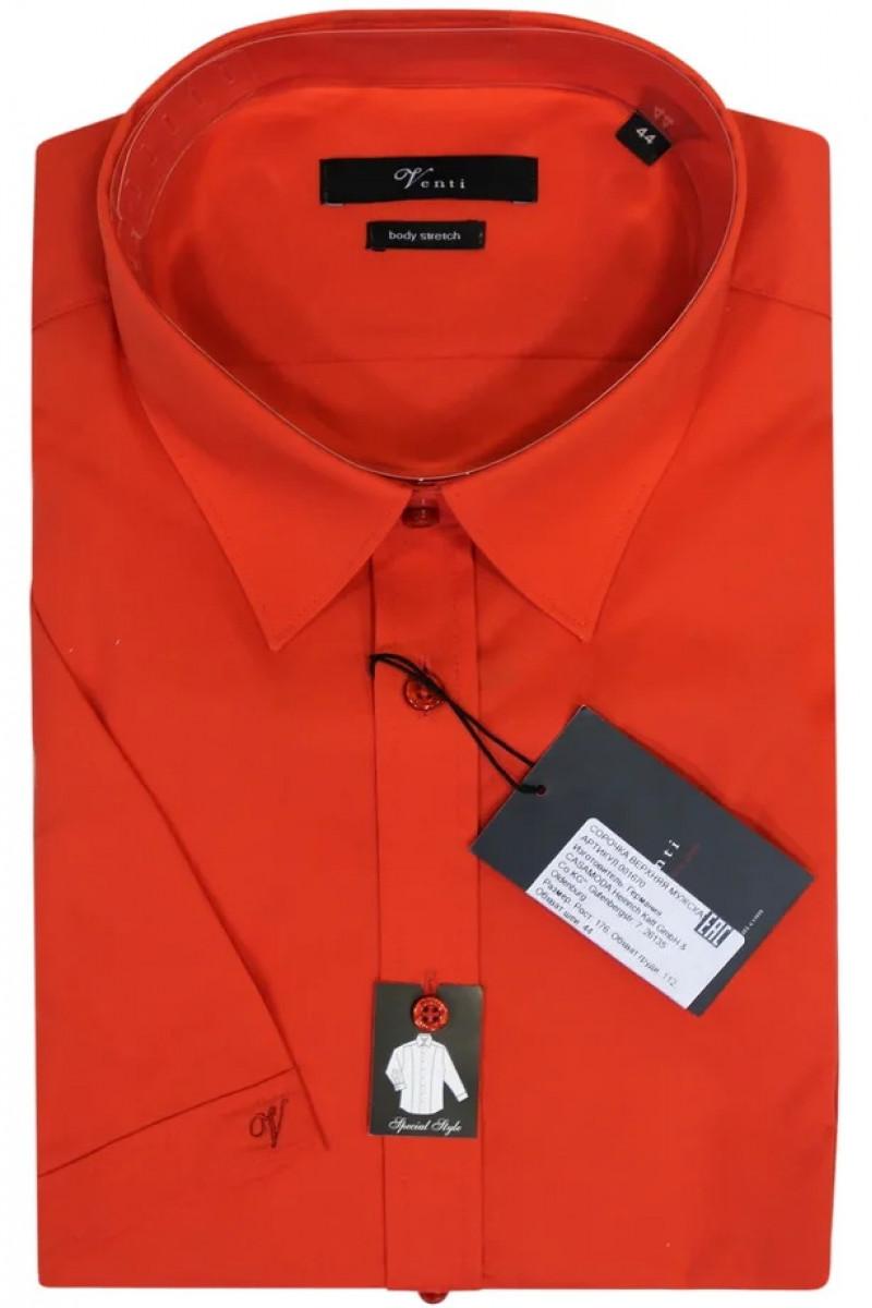 Красная рубашка Venti с короткими рукавами