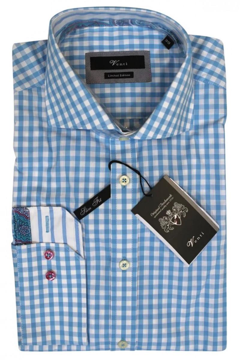 Рубашка голубая Venti