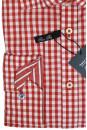 Рубашка в мелкую красно-белую клетку и с длинными рукавами Venti