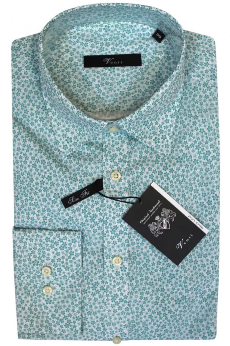 Рубашка зеленая Venti