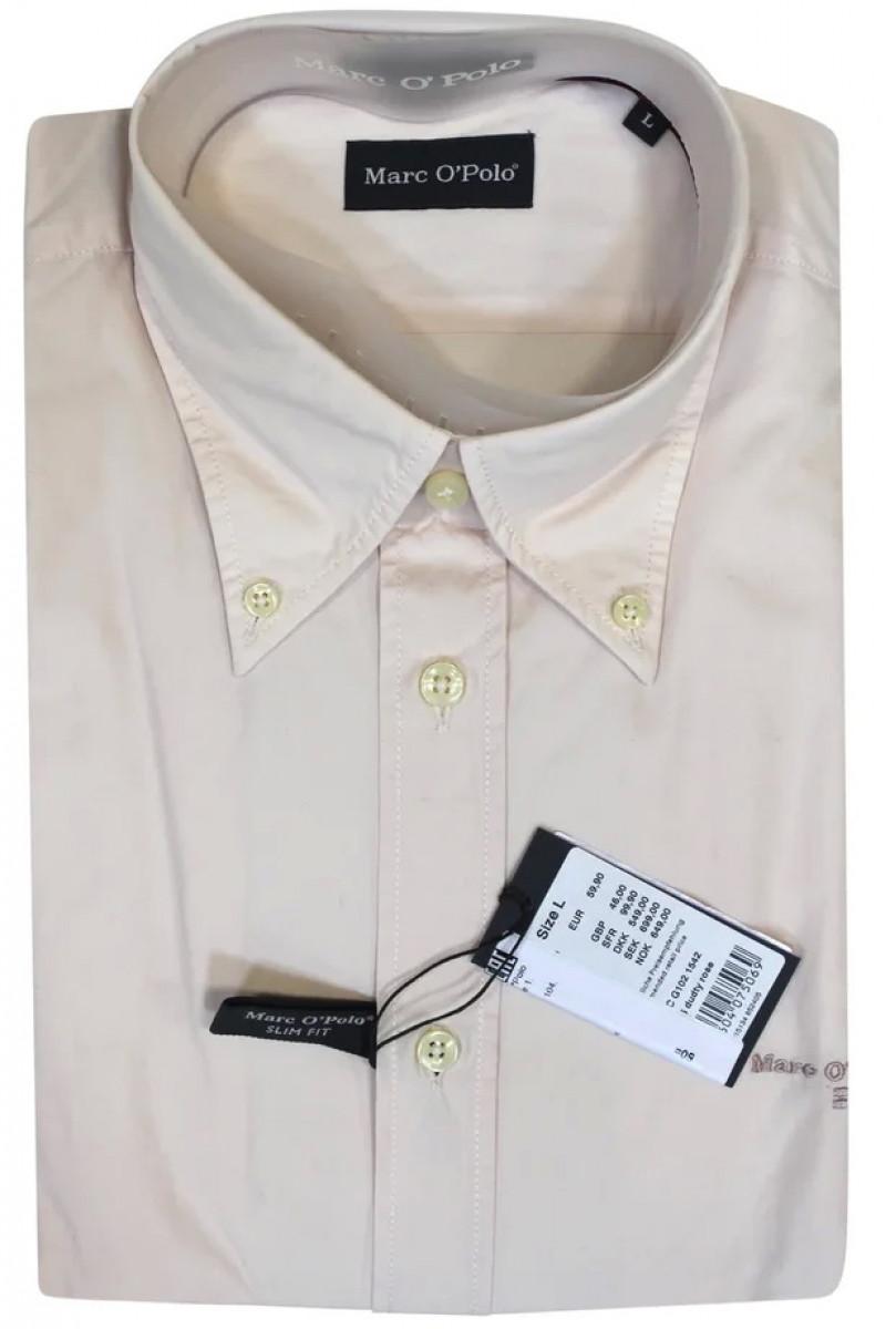 Светло-розовая рубашка Макс O'Polo