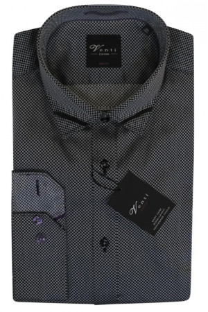 Светло-серая рубашка Venti с длинными рукавами