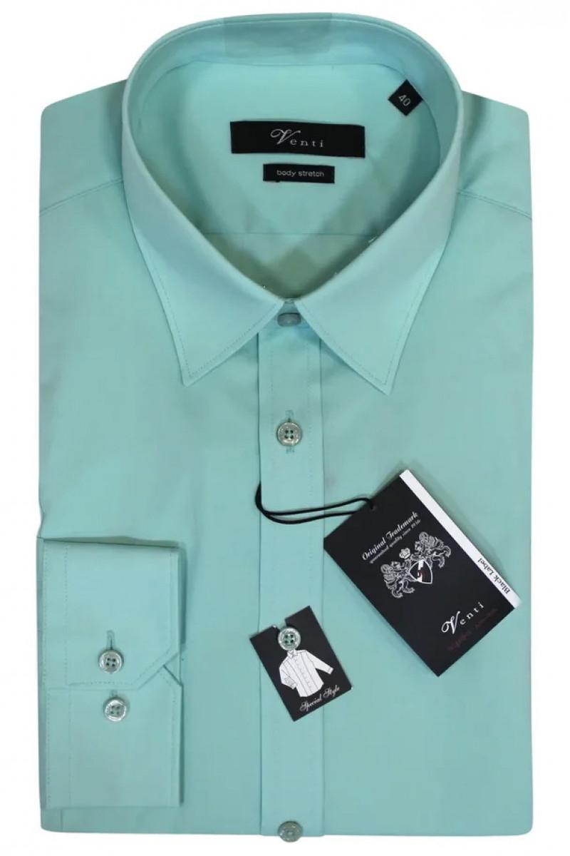 Светло-зеленая рубашка Venti с длинными рукавами